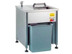 Dehidrator za mletje in dehidracijo organskih kuhinjskih odpadkov